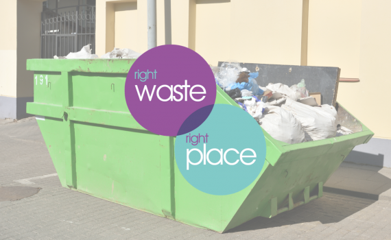 putting the right waste in the right place
